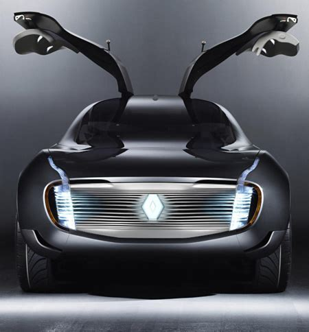Different Types Of Car Doors by Renault Ondelios Futuristic Car Concept With Butterfly