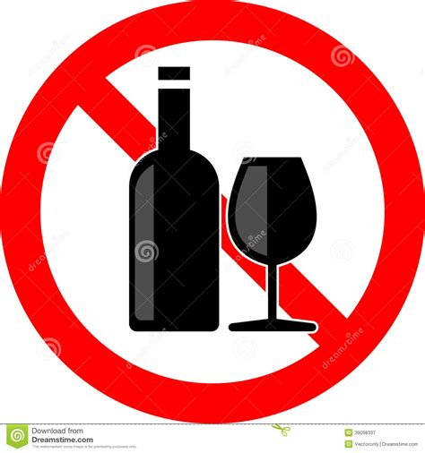 alcohol vector no alcohol stock vector illustration of beverage alcohol