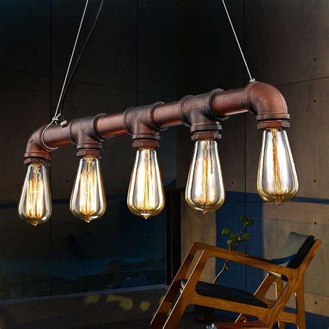 Hanging Candle Holder Chandelier стиль лофт в интерьере светильники и лампы лофт дизайна