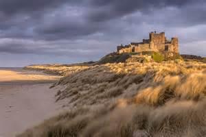 Landscape Pictures Uk Northumberland Castles Coast To Dusk Photography