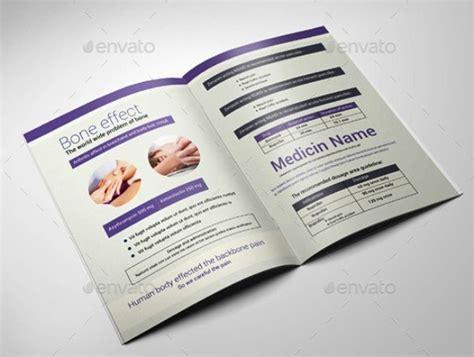 template untuk brochure desain brosur medis kesehatan klinik dan rumah sakit template