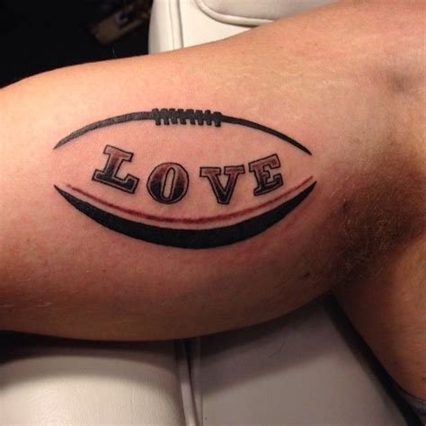 tattoo love football 1000 ideas about football tattoo on pinterest soccer