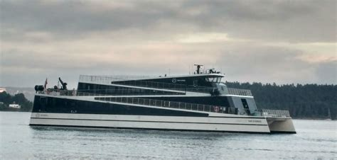 ferry electric electric ferry future of the fjords to launch april 2018