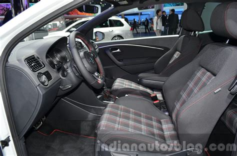 volkswagen polo 2016 interior india bound vw polo gti 2015 frankfurt motor show live