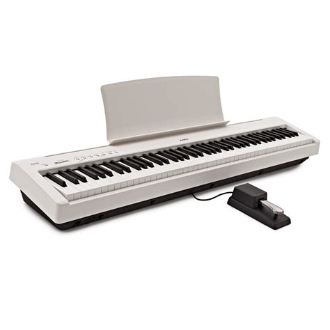 Kawai Digital Piano Es110 kawai es110 digital stage piano white at gear4music