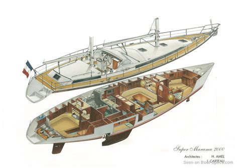 Floor Layout Plans super maramu 2000 amel sailboat specifications and