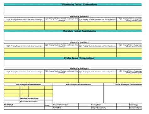 lesson plan template florida interactive fourth grade so by pam aursland teachers