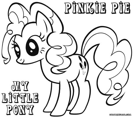 My Little Pony Pinkie Pie Coloring Pages My Pony Pinkie Pie Coloring Pages