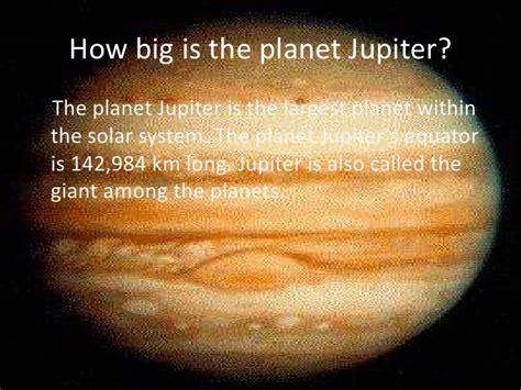 how to a big jupiter
