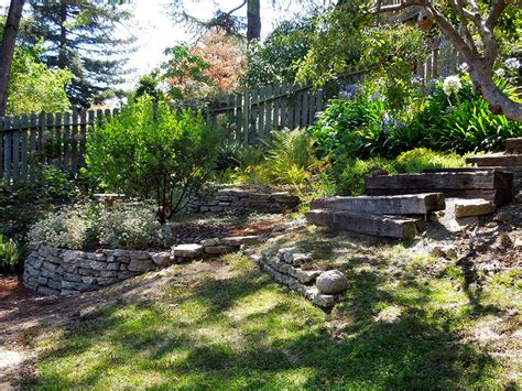 Terraced Backyard Landscaping Ideas Living Local Our Own Backyard Five One Oh