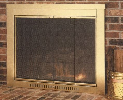 sentry hearth craft fireplace glass door