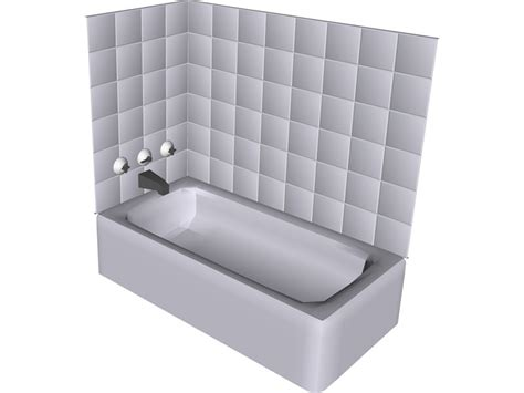 bathtub model bath tub 3d model 3d cad browser