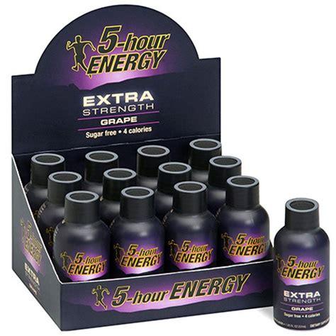 7 hour energy drink 5 hour energy strength grape energy drink 12 pack