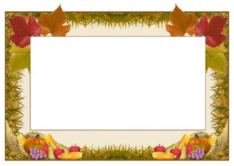 Make Custom Thanksgiving Cards Lovetoknow Thanksgiving Card Template Free