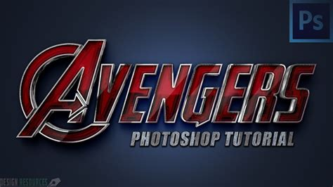 thor movie font avengers text style photoshop tutorial youtube