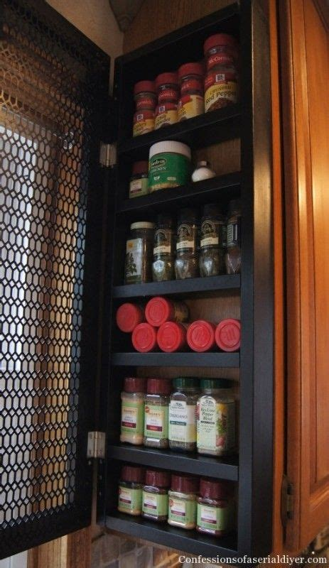 High End Spice Rack 17 Best Ideas About Spice Cabinets On Spice