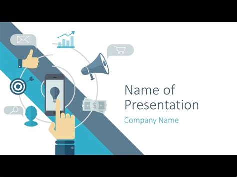 internet marketing powerpoint template metlic info