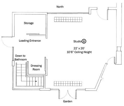 450 sq ft studio studio features studio b j d scott photography