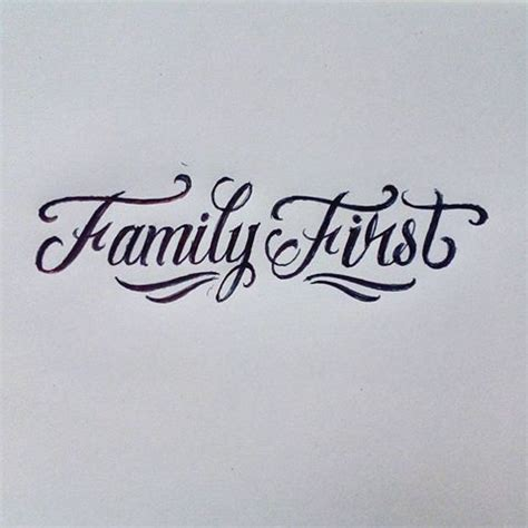 tattoo lettering about family albertho ulysses quewer instagram photos and videos