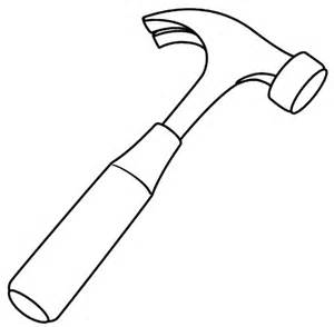 Modern Claw Hammer Coloring Pages  Free &amp Printable sketch template