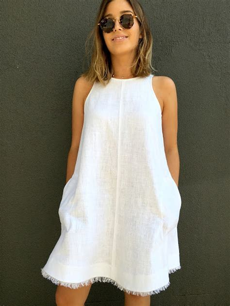 pattern for simple linen dress 21 quick and easy sewing patterns you can sew this weekend