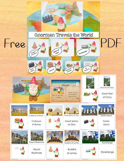 free printable montessori geography materials 24 best geography land and water forms features images