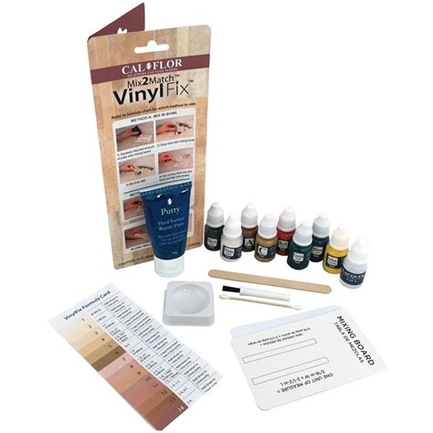 Floor Repair Kit Calflor Vinylfix Vinyl Flooring Repair Kit Fl49106cf The Home Depot