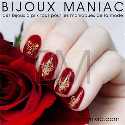 Deco Ongle 3d by D 233 Coration D Ongles 3d Or Motifs Bijoux Indiens