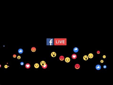 Facebook Live After Effects Template Youtube Live Reactions After Effects Template
