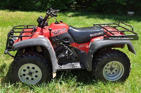 2001 Suzuki Quadrunner 500 2001 Suzuki Master 500