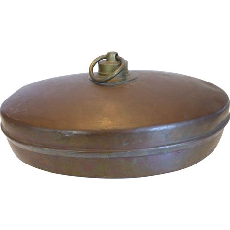 bed warmers antique copper foot bed warmer from historique on ruby lane