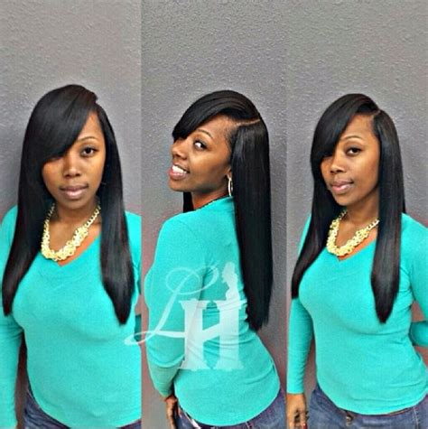 deep side part weave styles pinterest the world s catalog of ideas