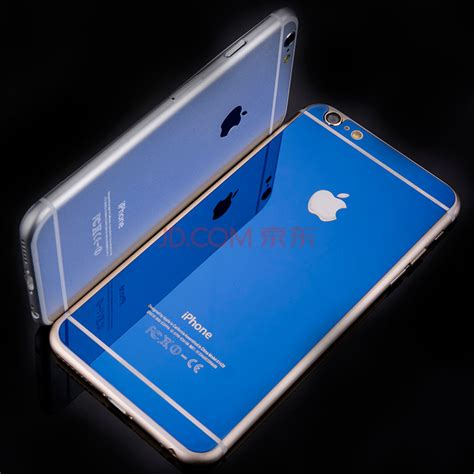 Soft Branded Iphone 6 Plus Free Tempered Glass new brand luxury front back mirror tempered glass protector for iphone 6 plus screen protector