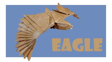 Eagle Origami - free coloring pages eagle origami tutorial nguyen hung
