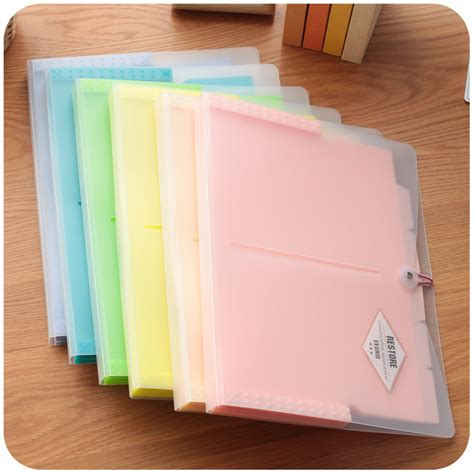 Bantex Multi L Folder 6 In 1 Folder A4 Ref8878 korean office file folders multi layer expanding file folder a4 portable paper document bag for