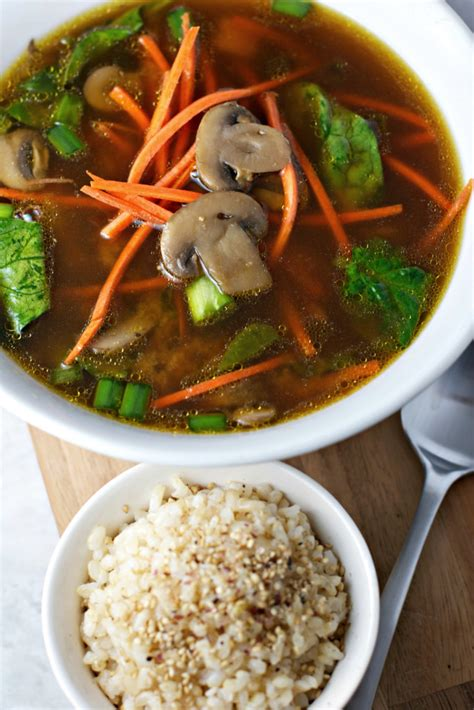 immunity boosting miso soup   nutrition