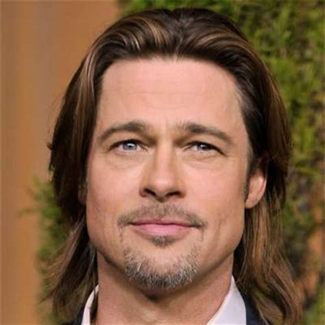 Brad Pitt Natural Hair | how to get brad pitt s hairstyle the idle man
