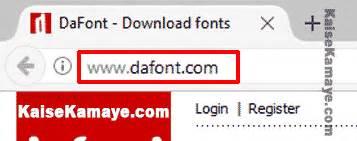 dafont hindi download computer me font download or install kaise kare in hindi