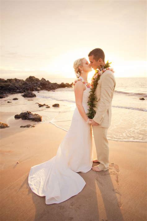 exotic beach wedding  maui