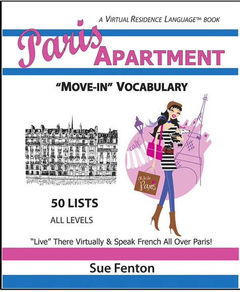 Apartment Vocabulary Residence Language Madame Fifi Publications