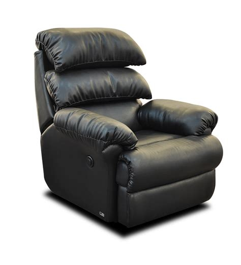 Automatic Recliners by Otium Recliner Automatic In Black Colour By Nap