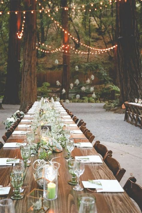 enchanting woodland wedding ideas  inspire page
