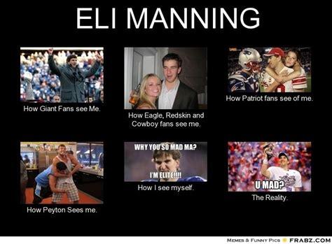 Eli Meme - peyton manning facebook covers eli manning meme