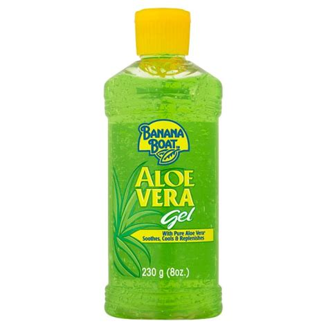 banana boat drink banana boat aloe vera gel 230g groceries tesco groceries