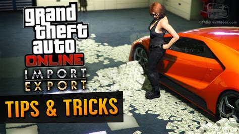 Gta Online How To Make Money - gta online guide how to make money with import export dlc youtube