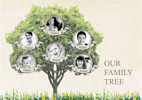 family tree portrait template search results for collage template calendar 2015