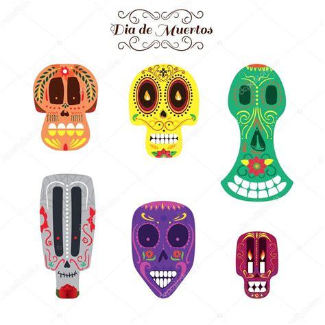 imagenes de calaveras animadas de dia de muertos conjunto mexicano d 237 a de muertos calaveras archivo