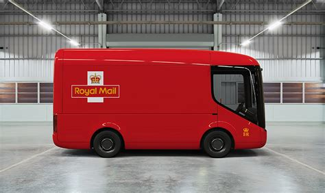 electric company truck royal mail says arrival electric vehicles will be worth