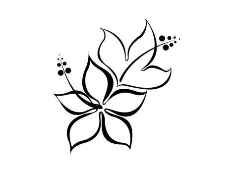 Easy To Draw Japanese Flowers by Easy Drawings Easy Flowers To Draw Drawing