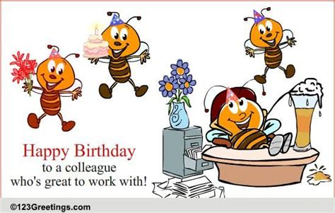 Happy Birthday Wishes For Work Colleague Belated Birthday Quotes For Colleagues Quotesgram